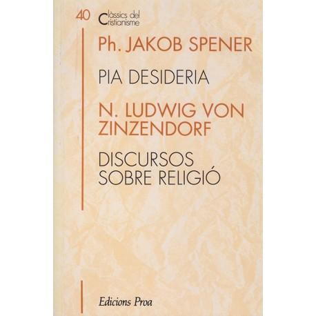 PIA DESIDERIA i DISCURSOS SOBRE RELIGIÓ