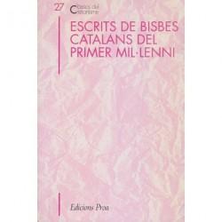 ESCRITS DE BISBES CATALANS DEL PRIMER MIL·LENI