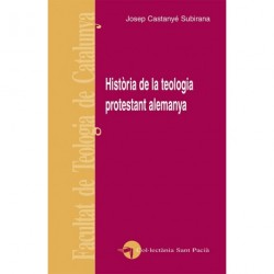 HISTÒRIA DE LA TEOLOGIA PROTESTANT ALEMANYA