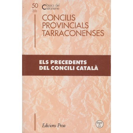 CONCILIS PROVINCIALS TARRACONENSES