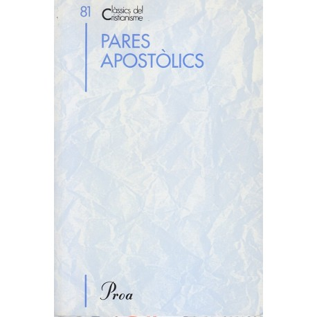 PARES APOSTÒLICS