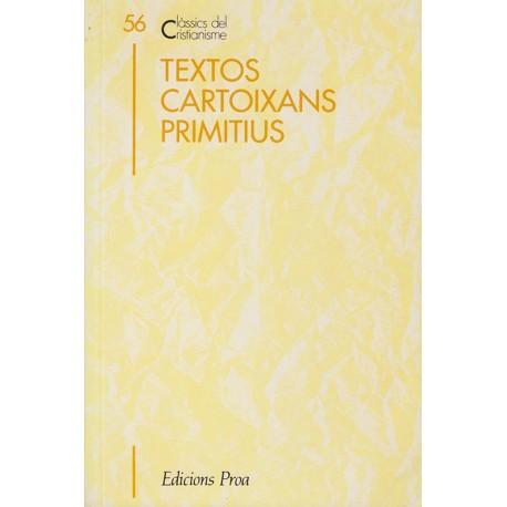 TEXTOS CARTOIXANS PRIMITIUS